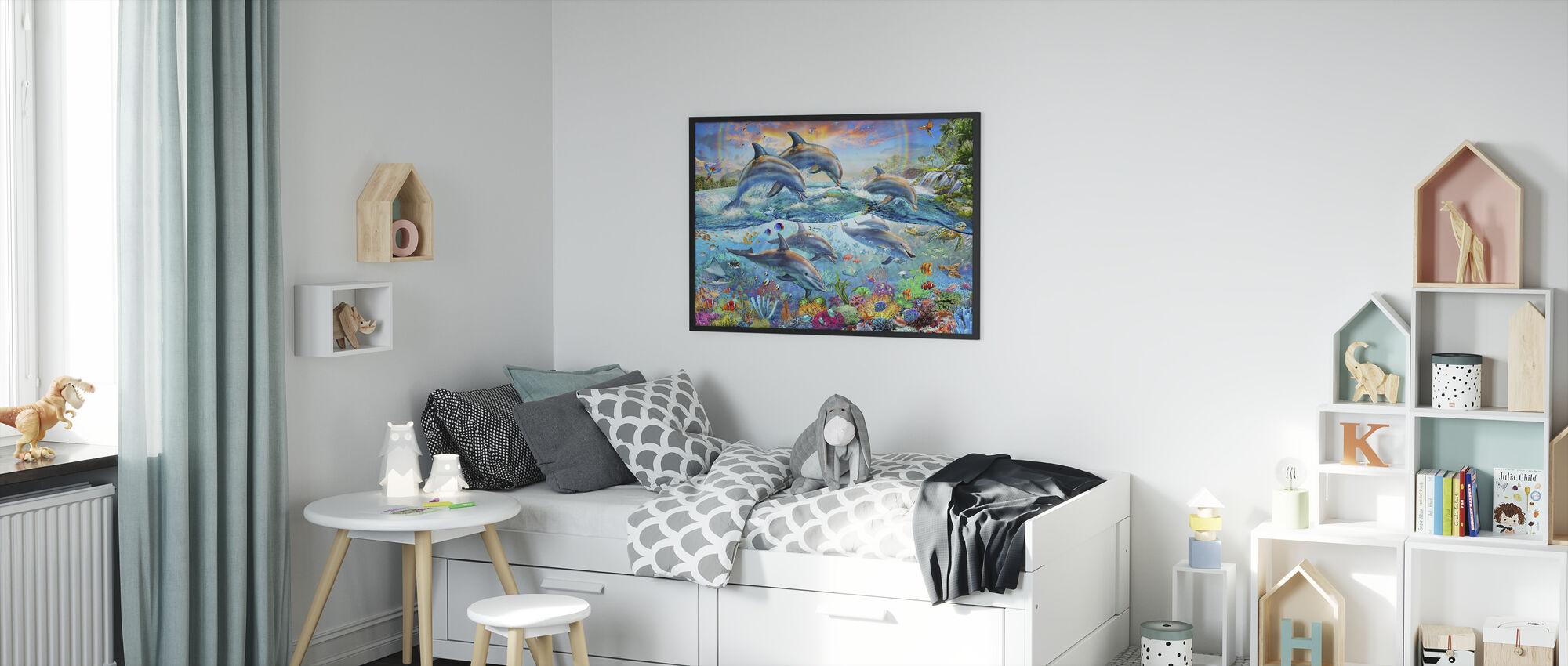 Tropical Seaworld - Framed print - Kids Room