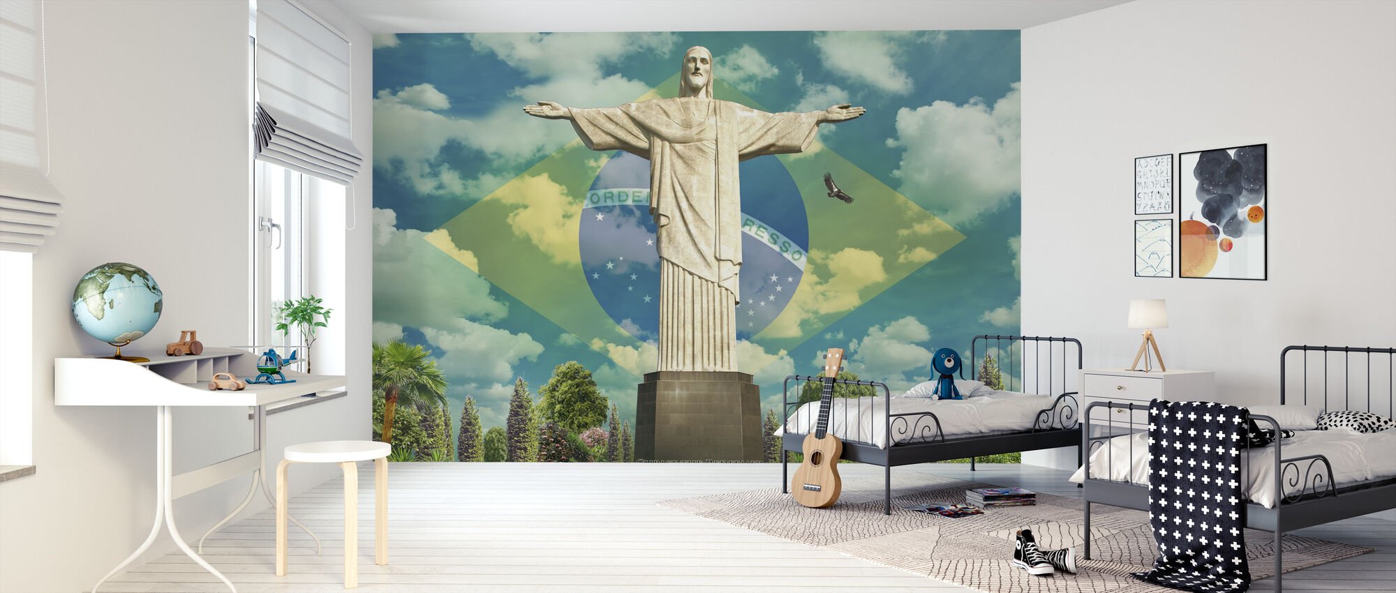 Jeesus Rio - Tapetti - Lastenhuone