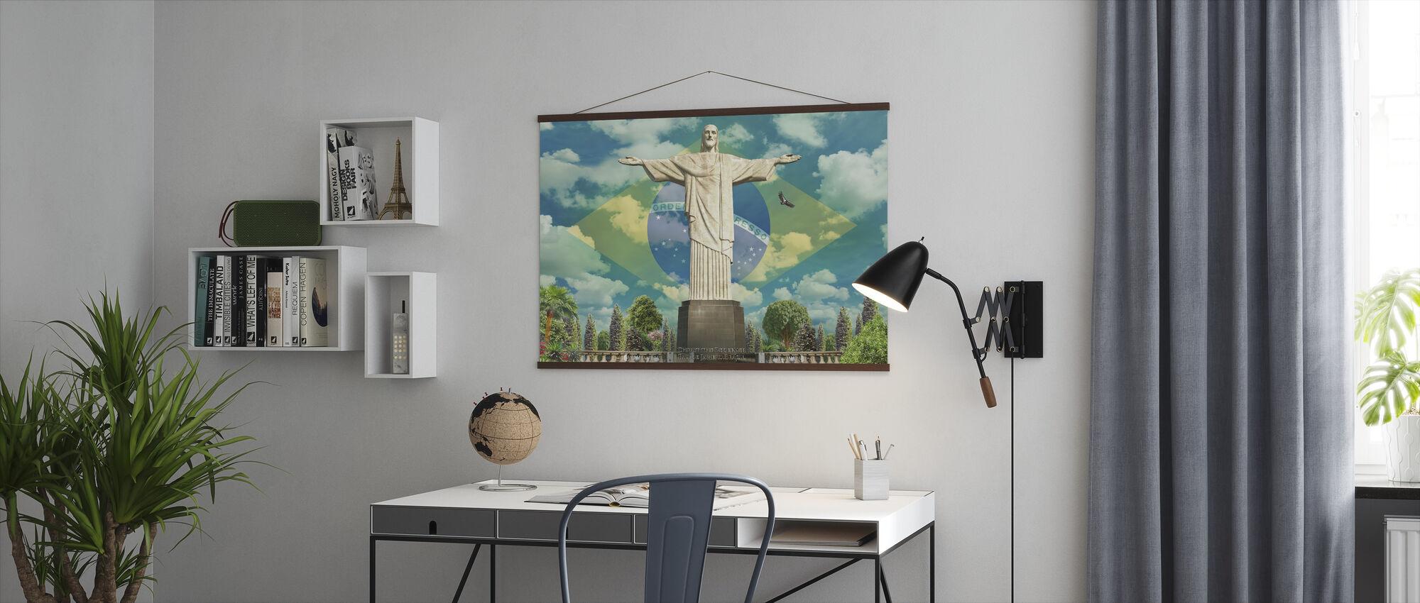 Jesus in Rio - Poster - Office