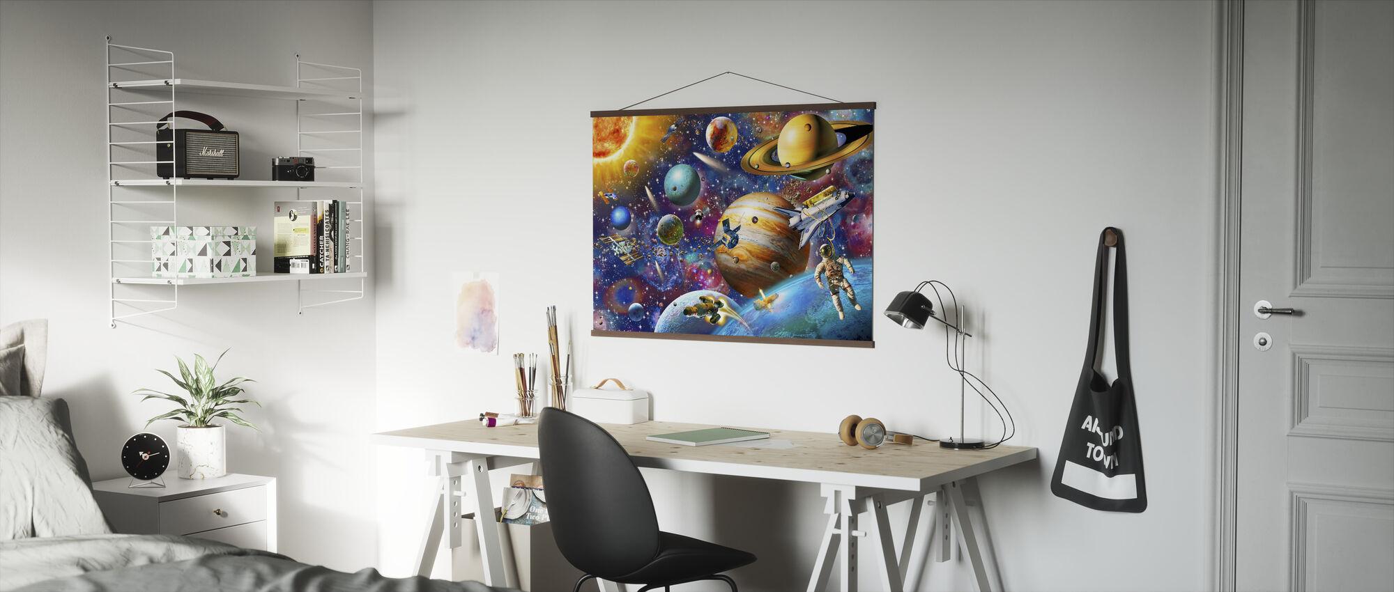Solar System Odyssey - Poster - Office