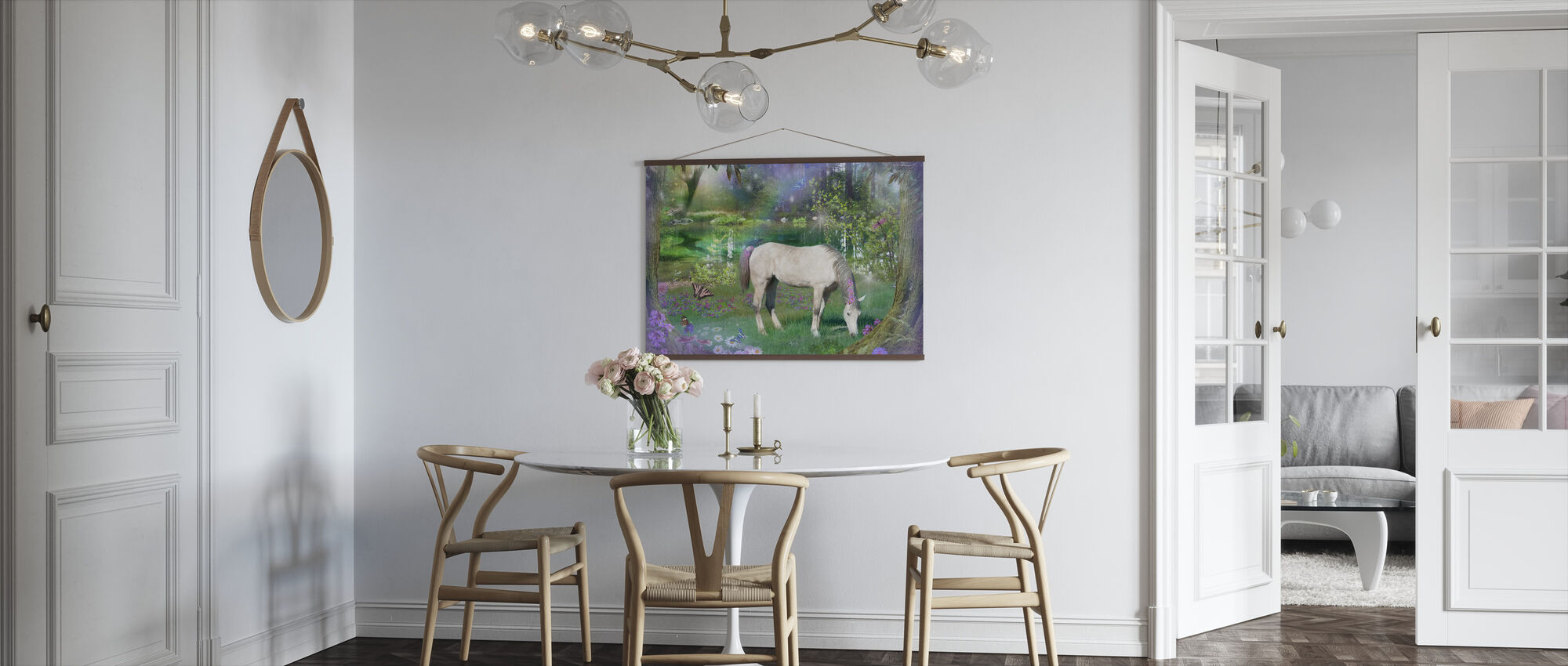 Emerald Unicorn - Poster - Kitchen