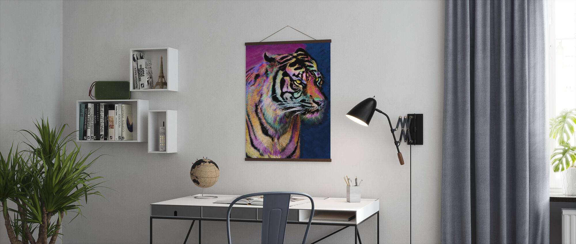 Rainbow Tiger - Plakat - Kontor