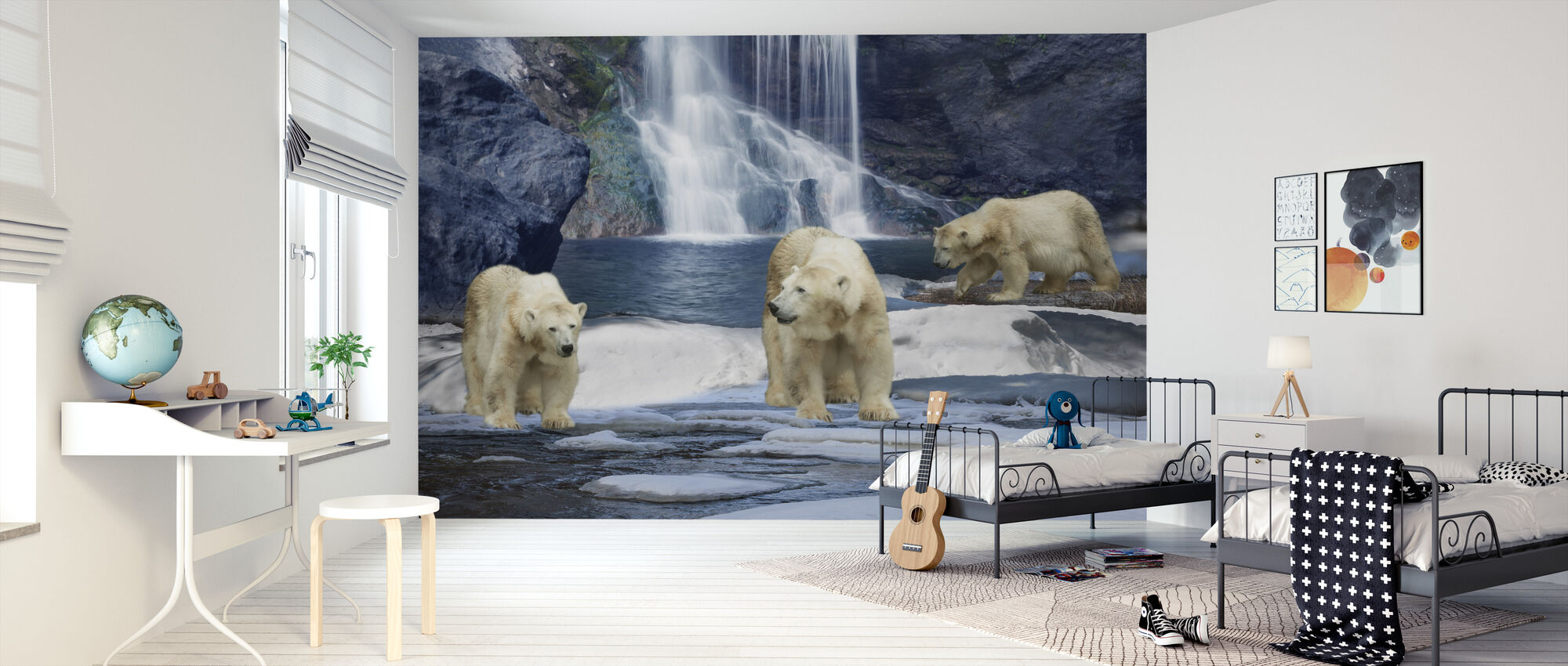 Polarbear Talvi - Tapetti - Lastenhuone
