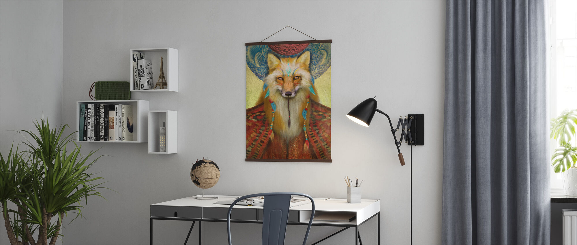 Wise Fox - Poster - Office