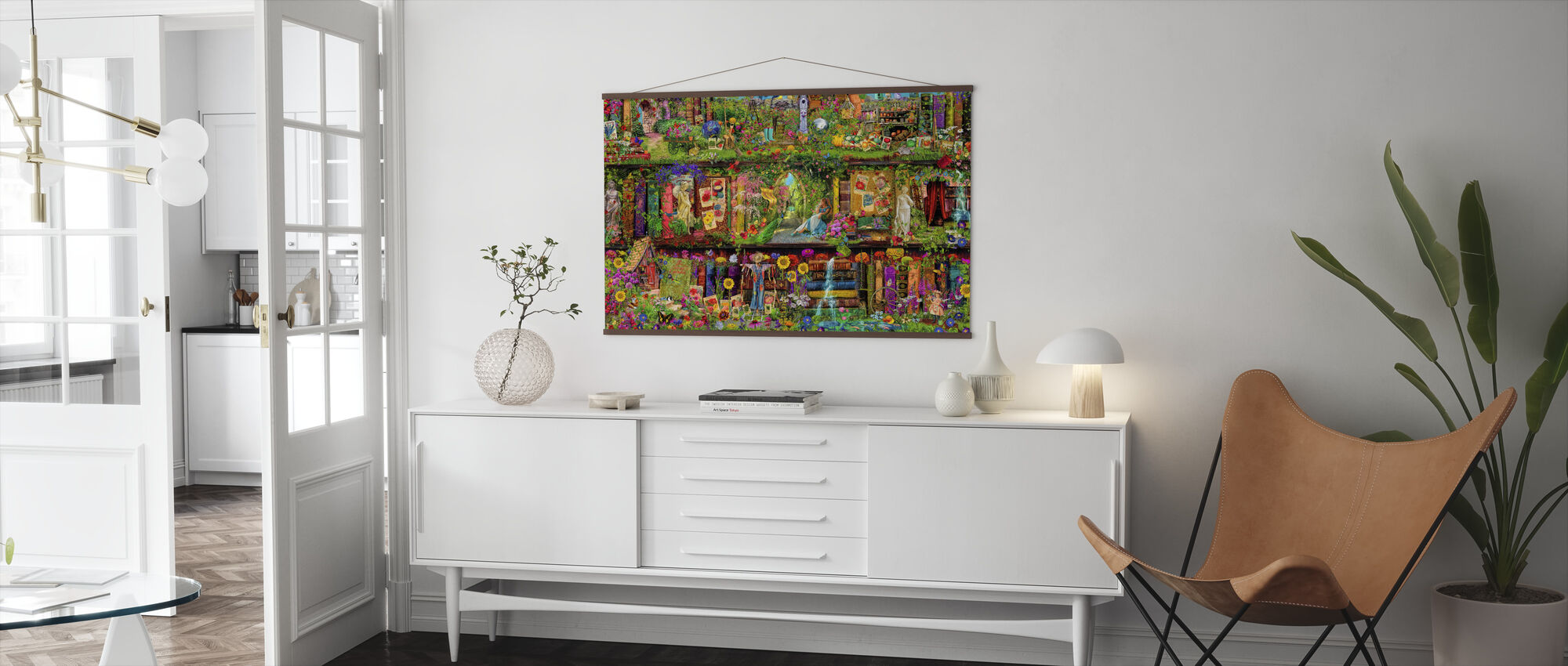 The Garden Shelf Modne Plakaty Photowall