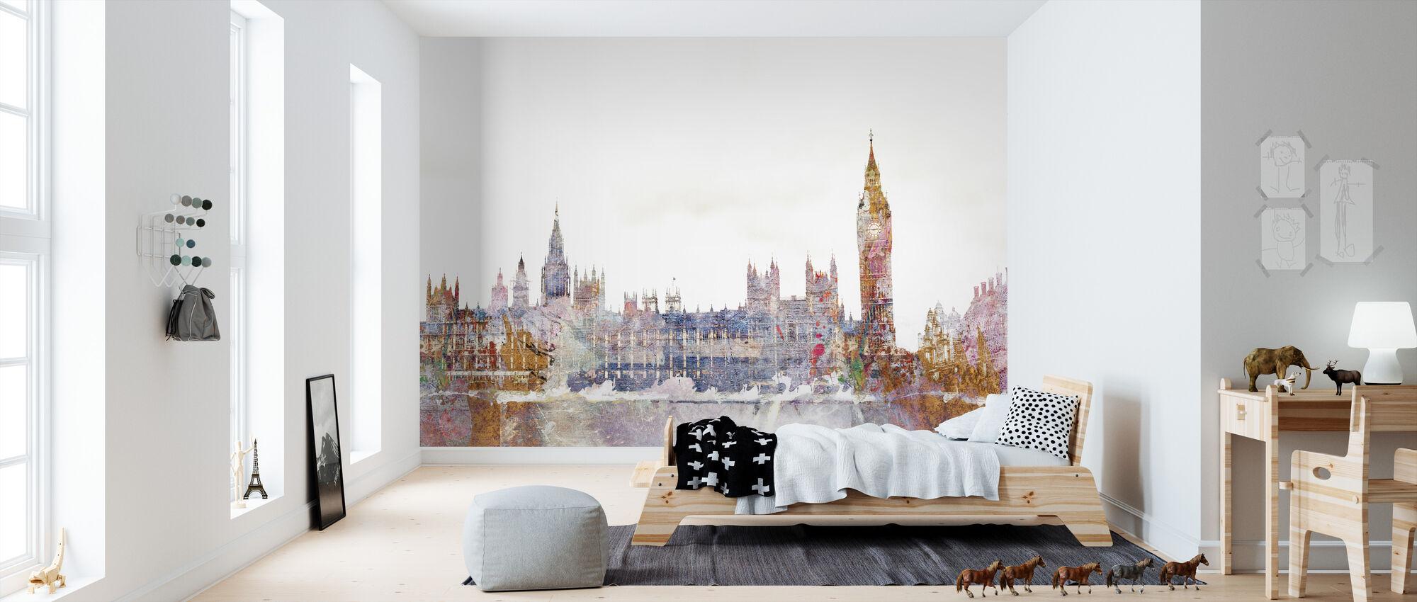 Parliament Color Splash - Wallpaper - Kids Room
