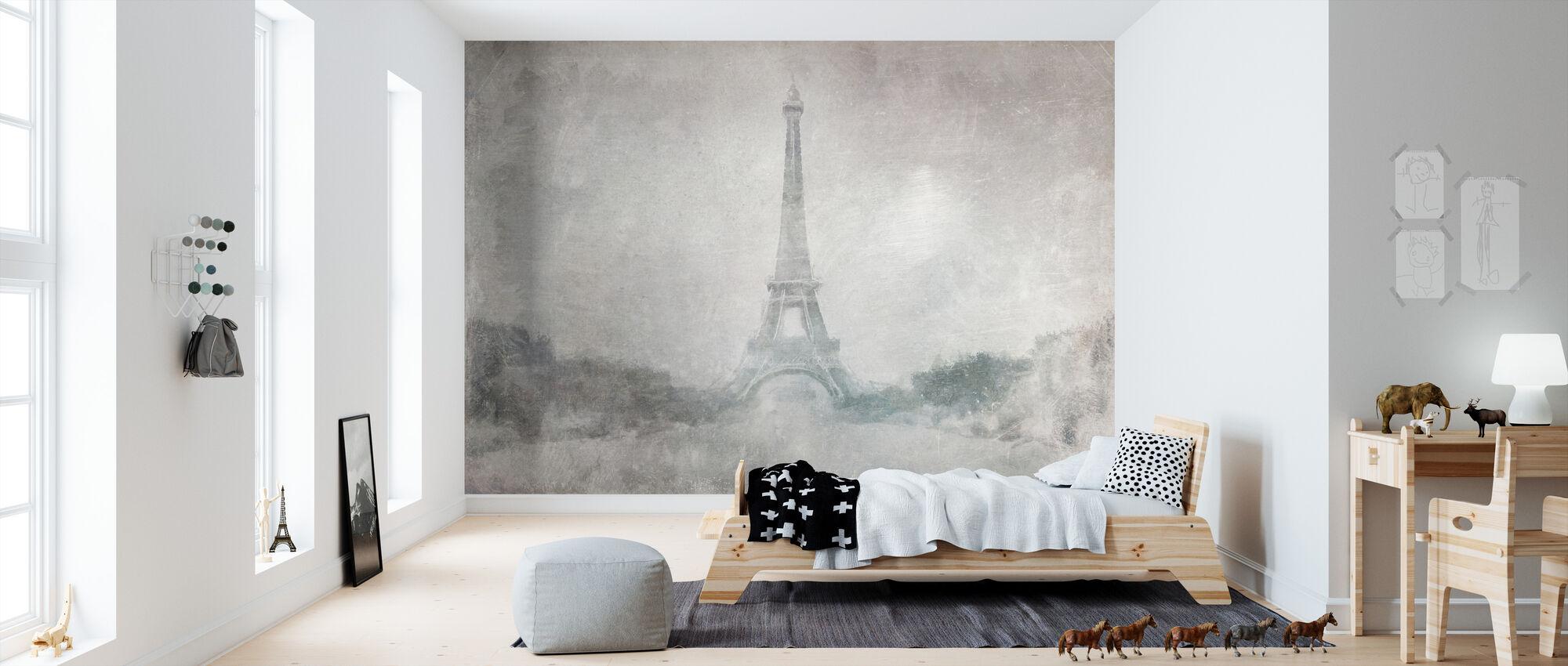 Eiffeltårnet - Tapet - Barnerom