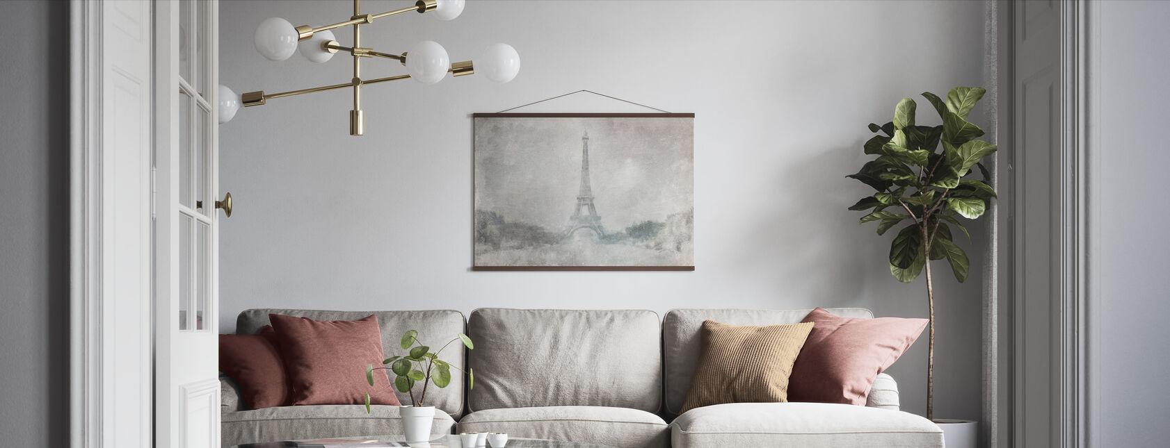 Eiffel-torni - Juliste - Olohuone