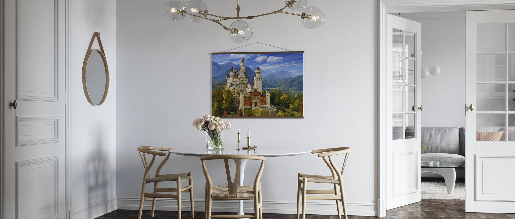 Neuschwanstein Castle - Poster - Kitchen