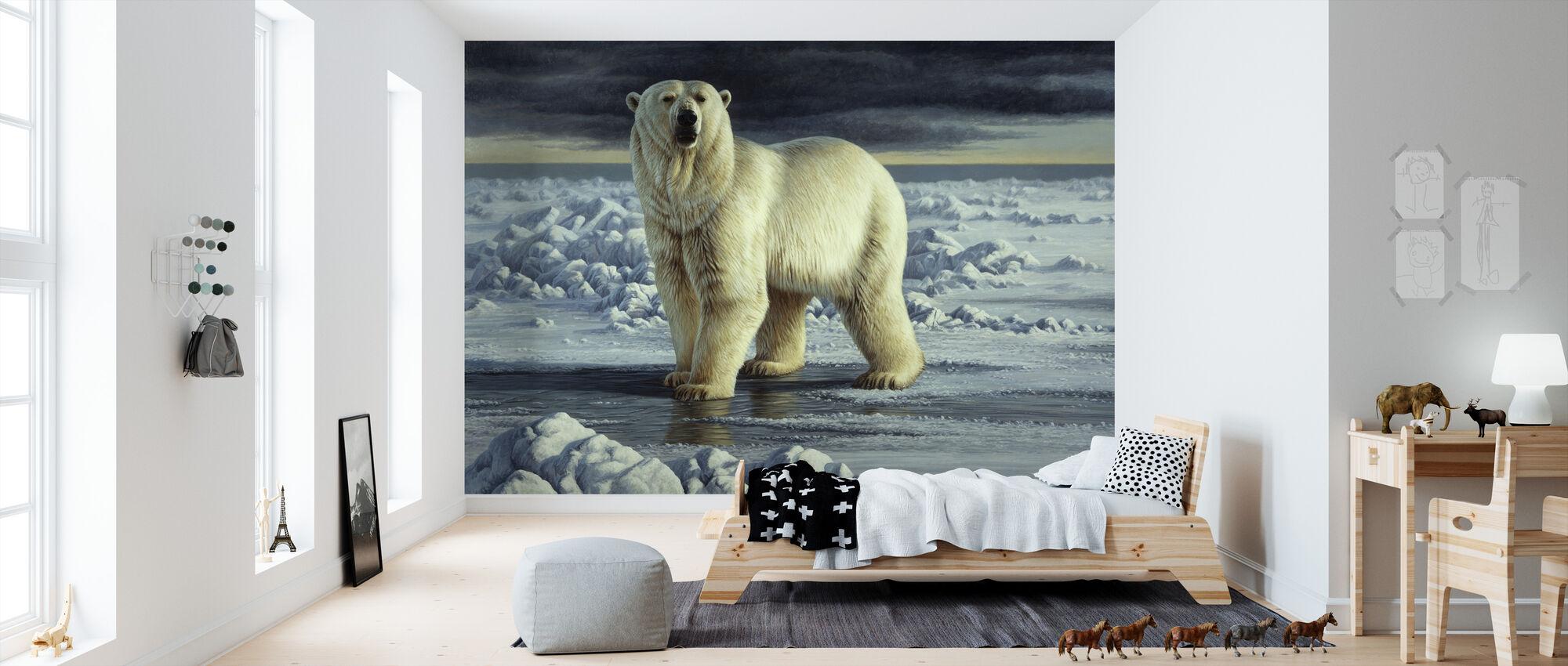 Arktisk konge - Tapet - Barnerom