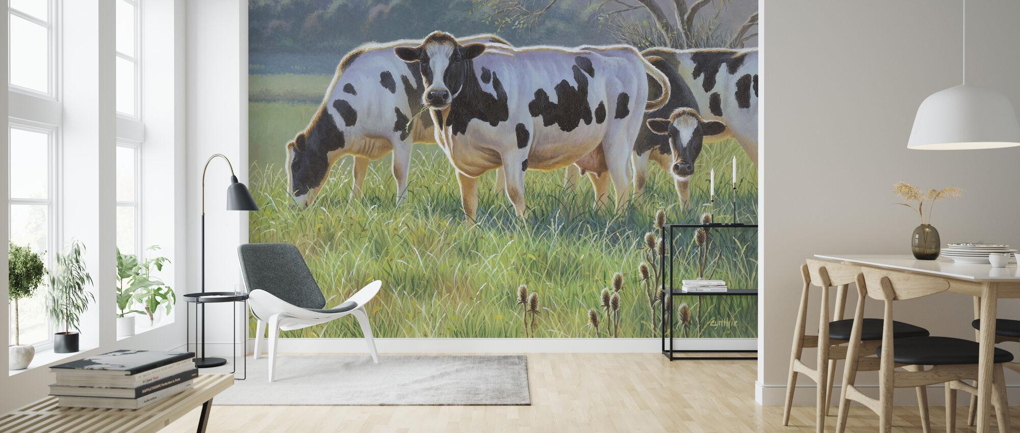 Koeien - Behang - Woonkamer