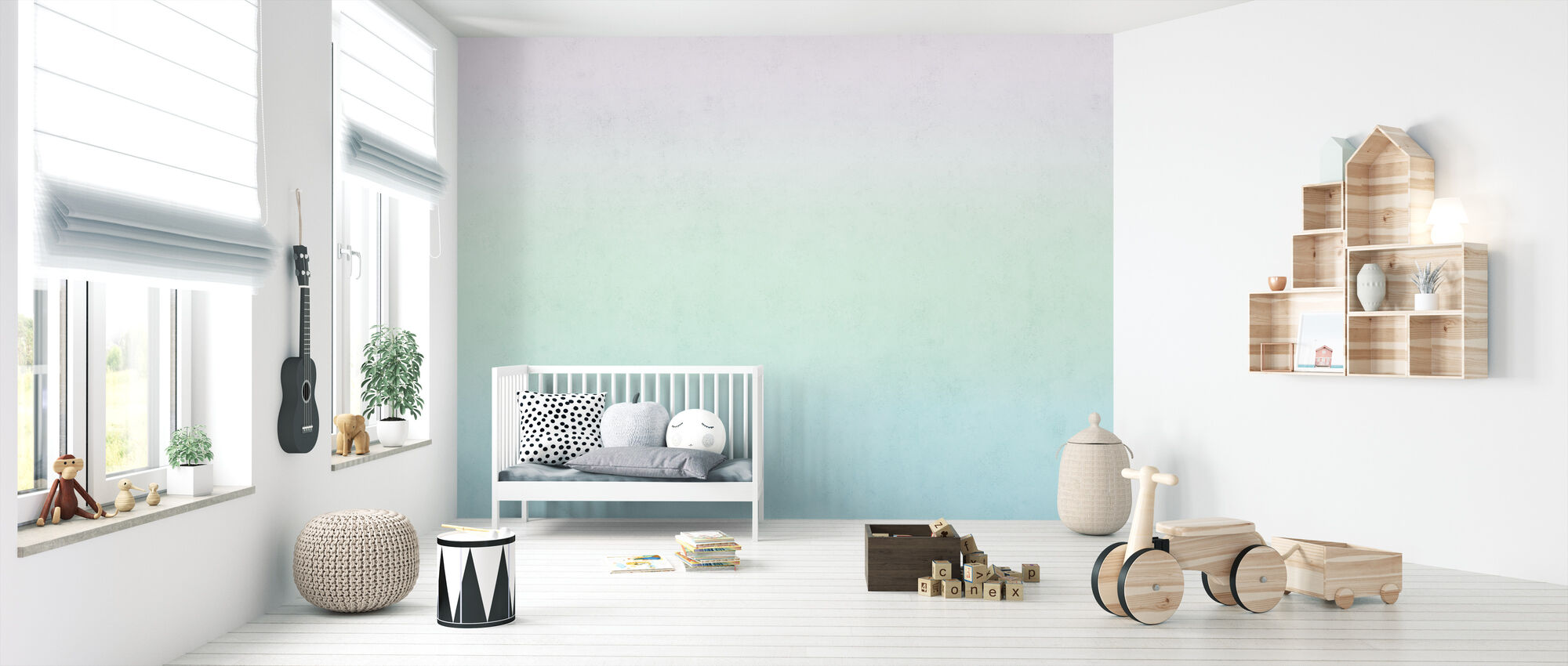 Arctic Sunset - Wallpaper - Nursery