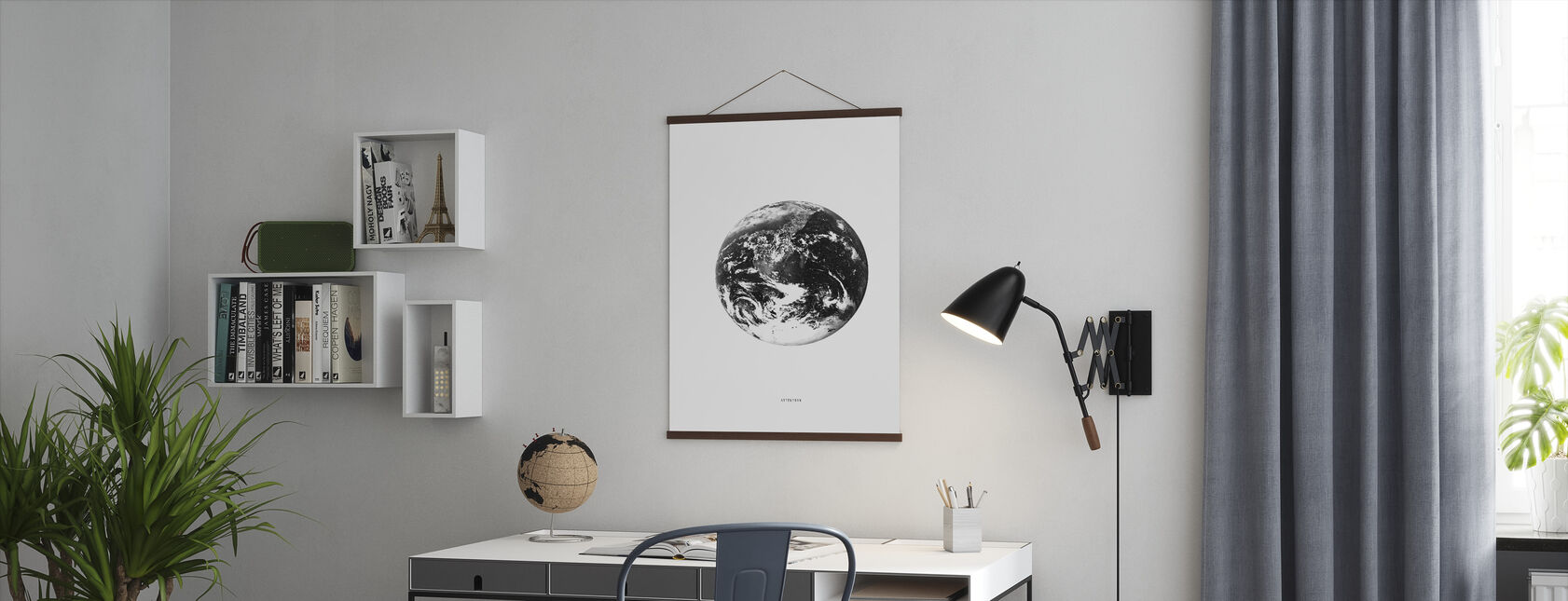 Aufmerksamkeit - Poster - Büro
