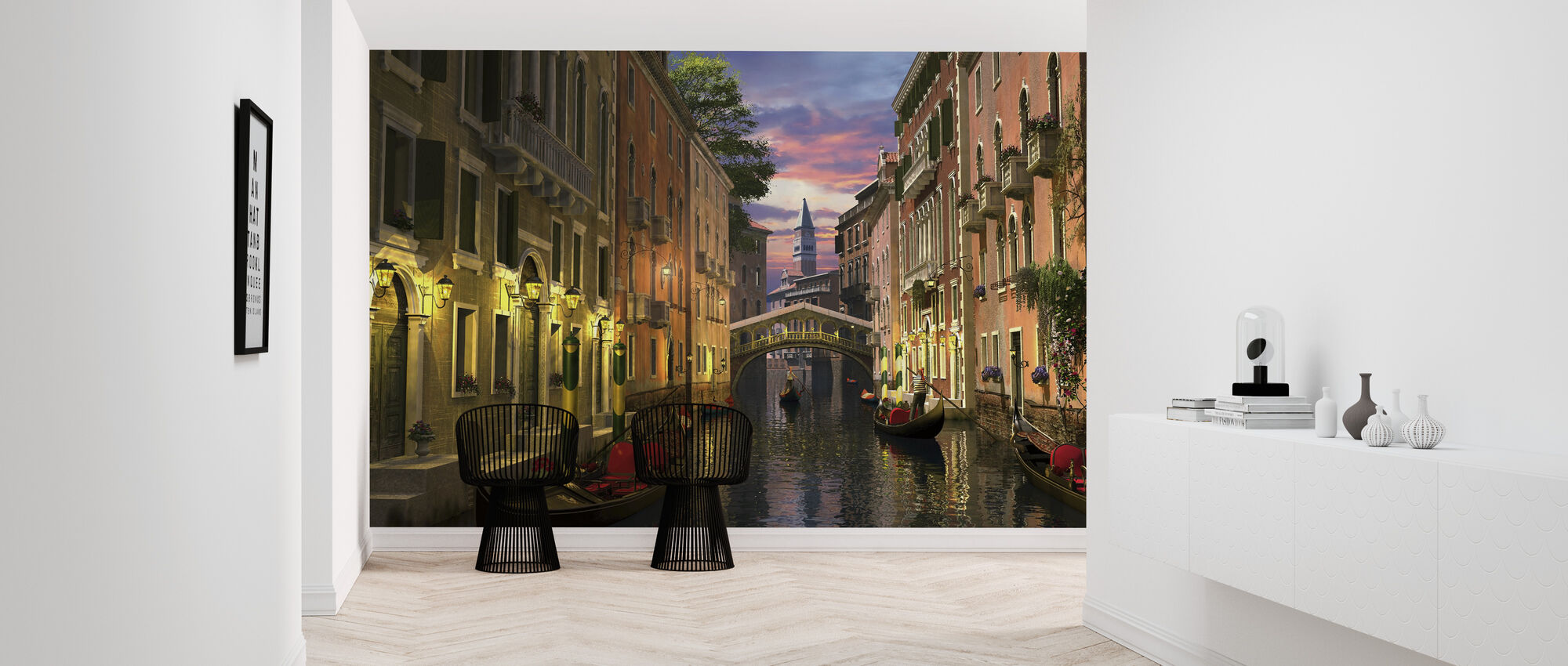 Venice at Dusk - Wallpaper - Hallway
