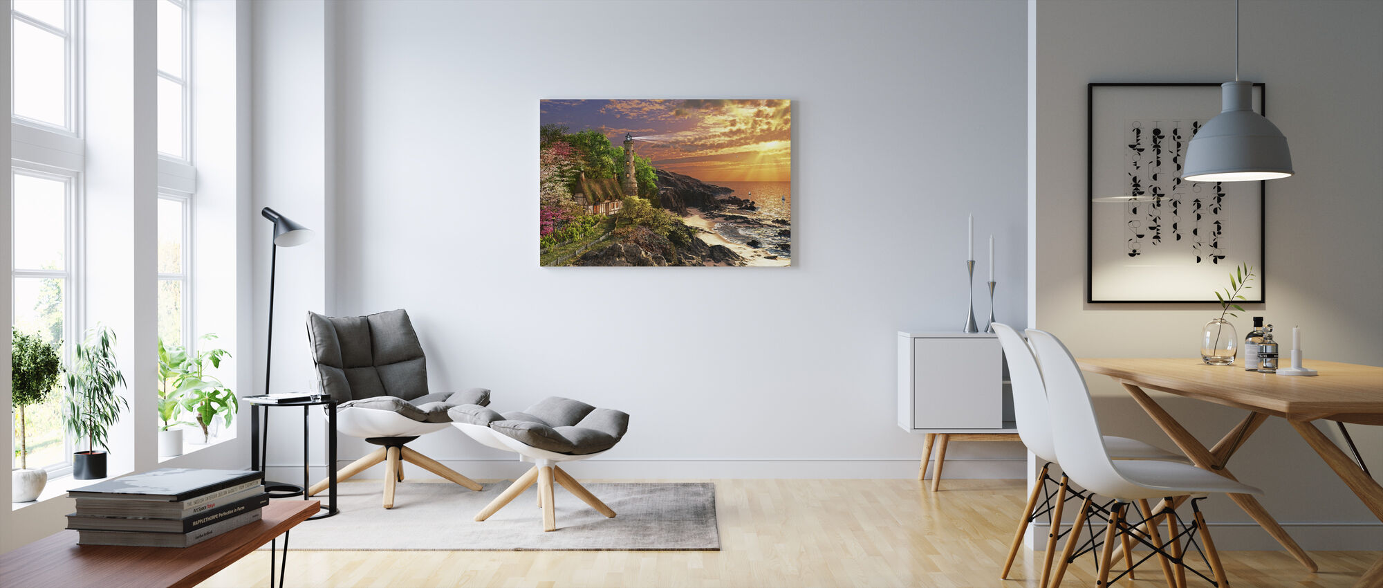 Stoney Cove - Canvas print - Living Room