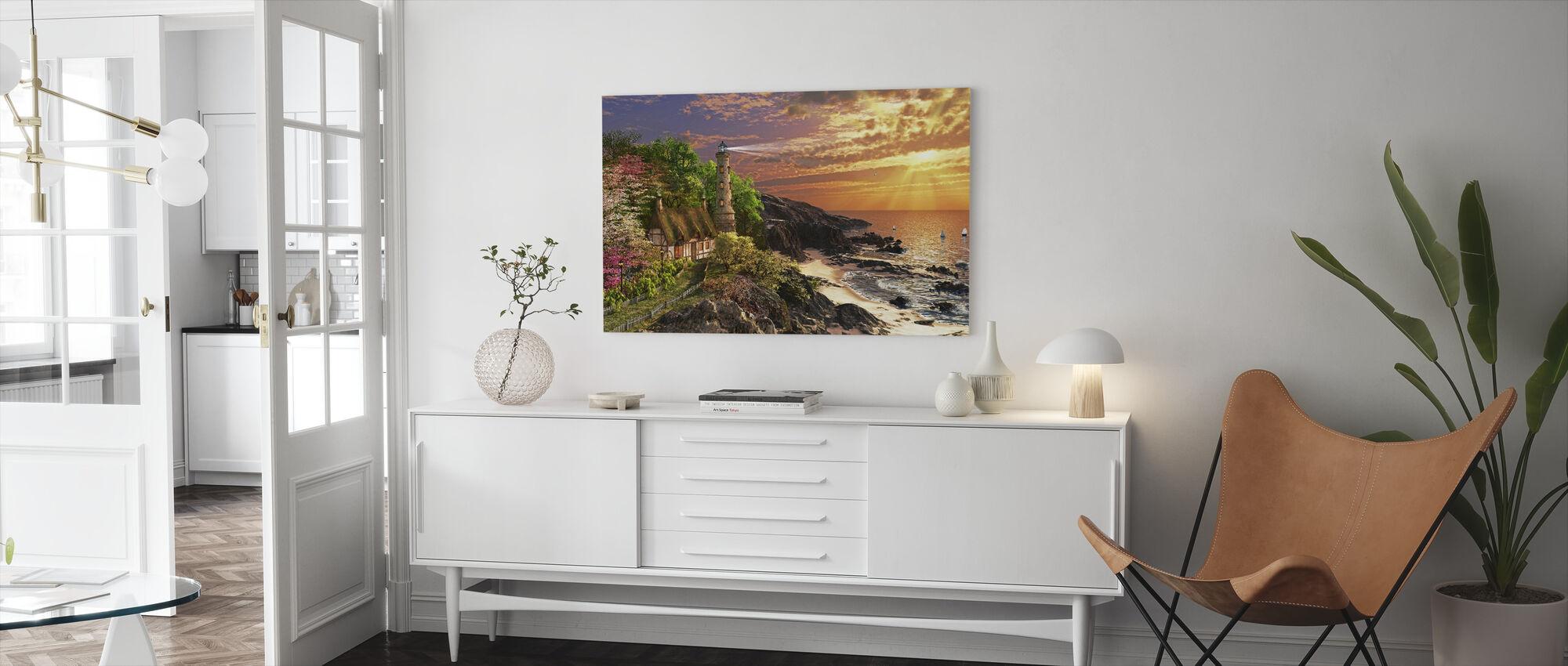 Stoney Cove - Canvas print - Living Room