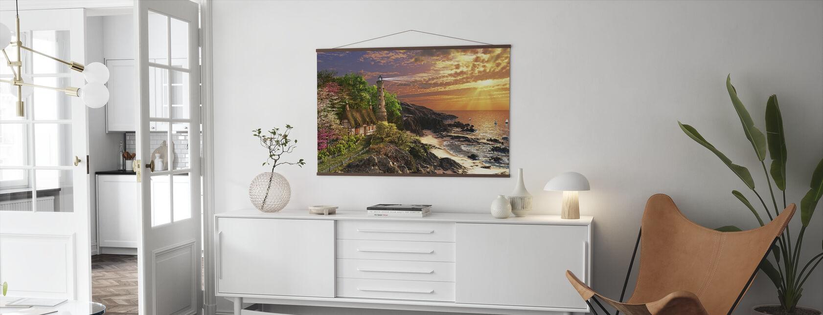 Stoney Cove - Poster - Living Room