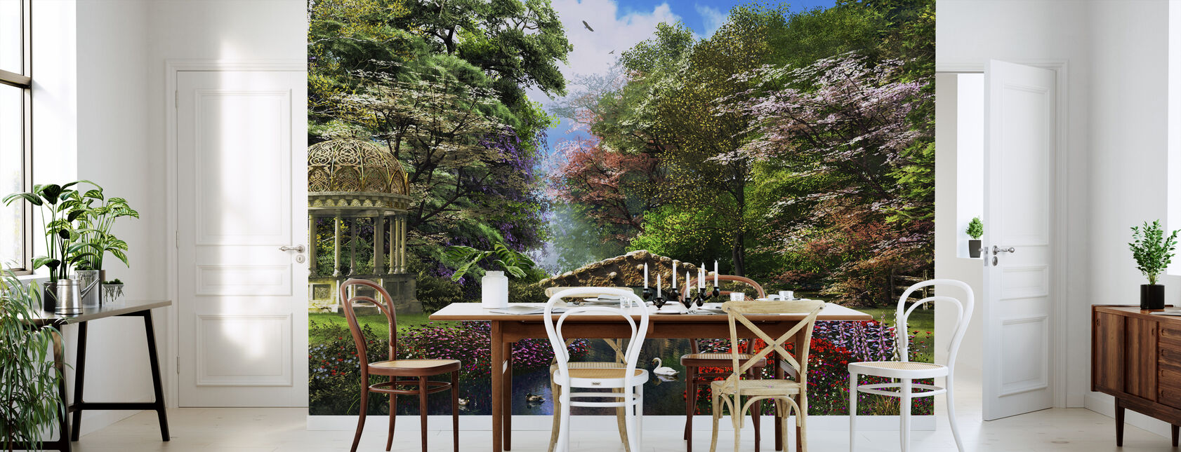 The Garden of Peace - Wallpaper - Kitchen
