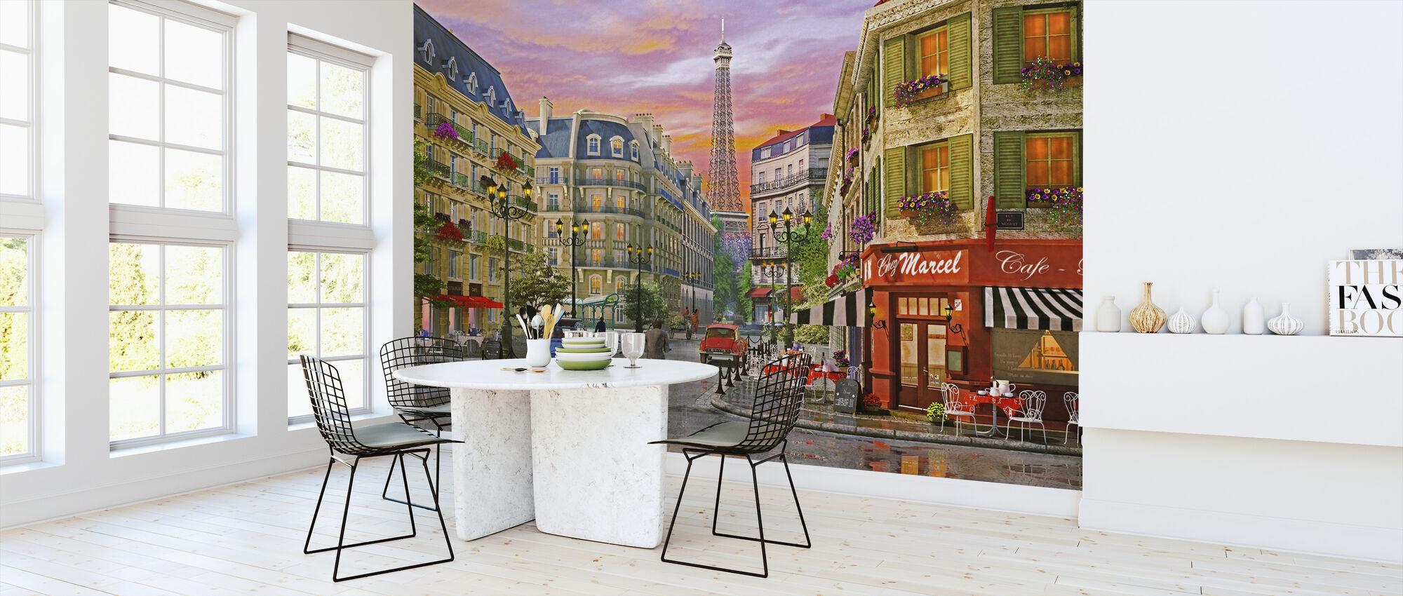 Paris Street - Wallpaper - Kitchen
