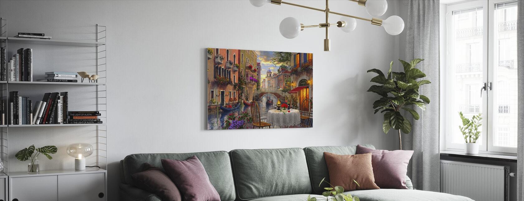 Venice Al Fresco - Canvas print - Living Room