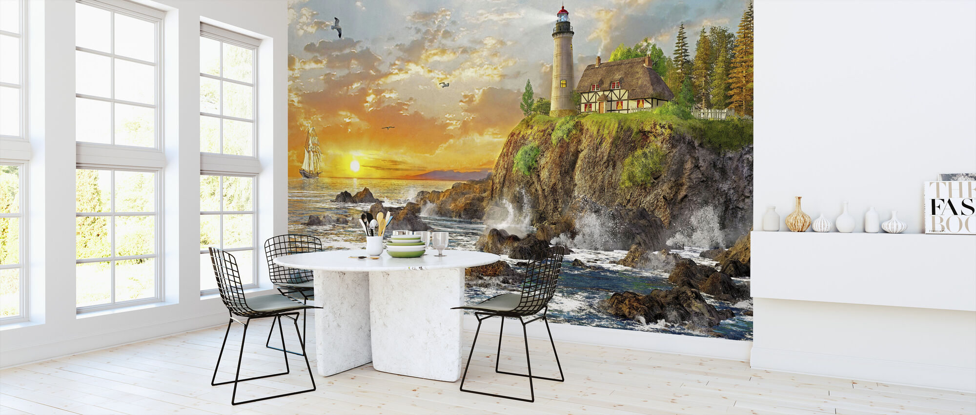 Craggy Cove - Wallpaper - Kitchen