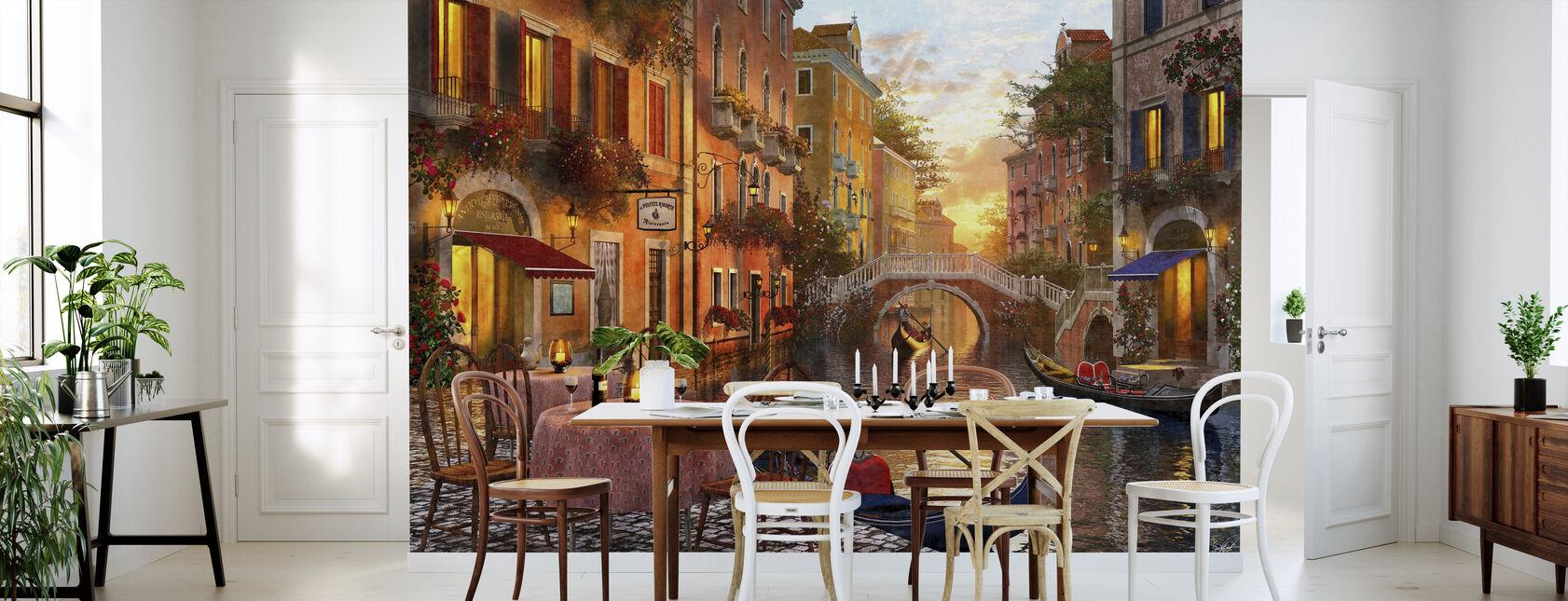 Den venitiska solnedgången - Tapet - Kök