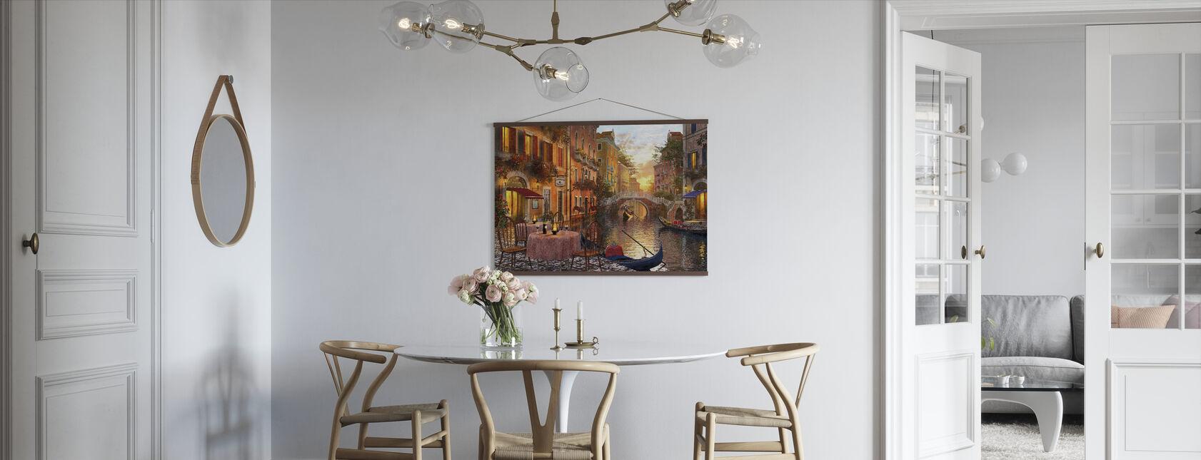 Den venitiske solnedgangen - Plakat - Kjøkken