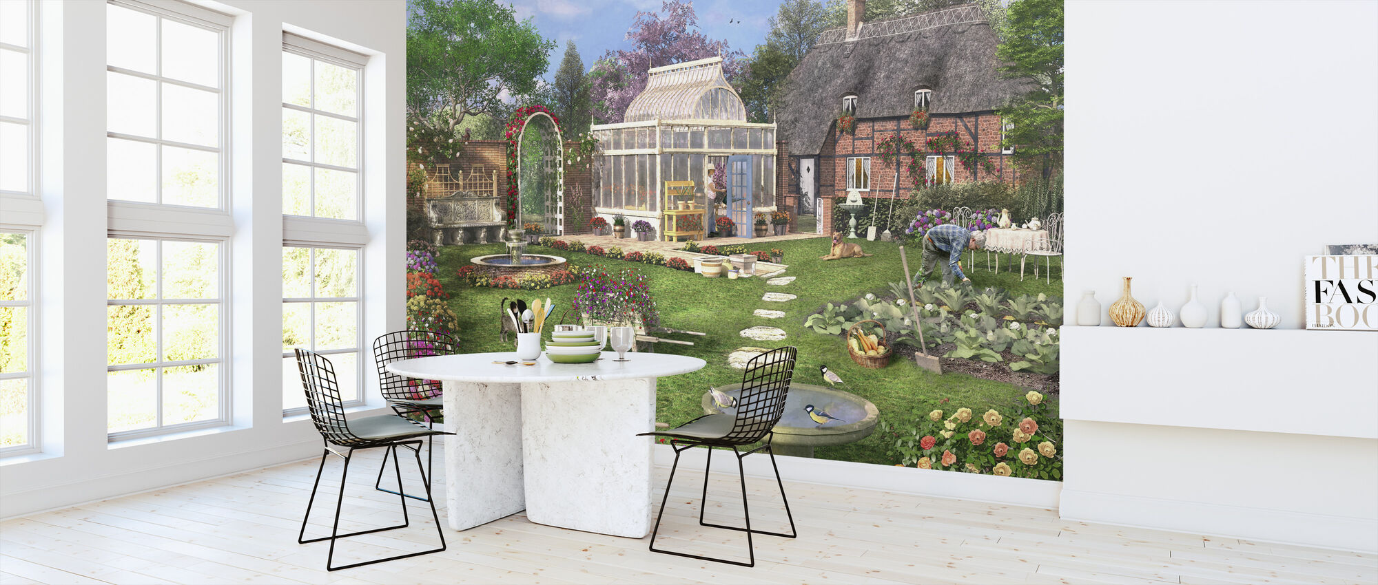 The Cottage Garden - Wallpaper - Kitchen