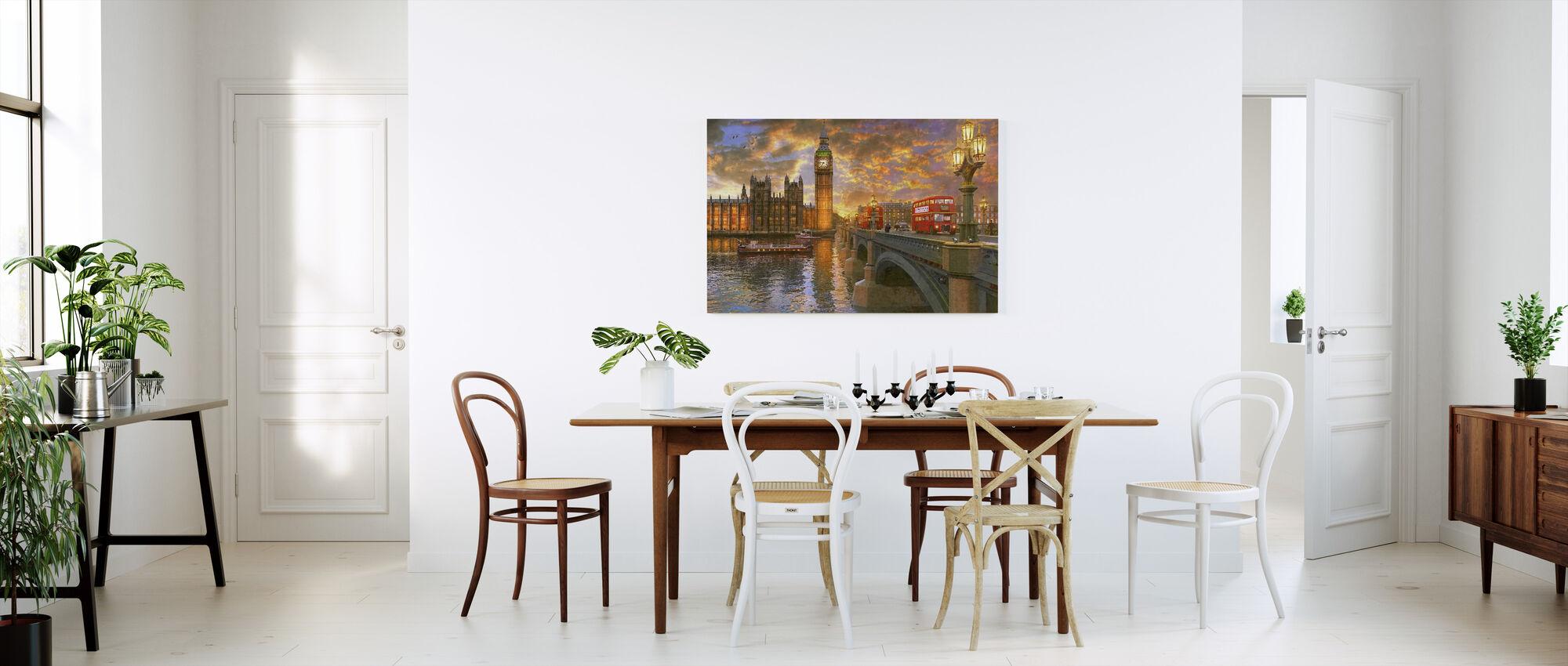 Westminster Sunset - Canvas print - Kitchen