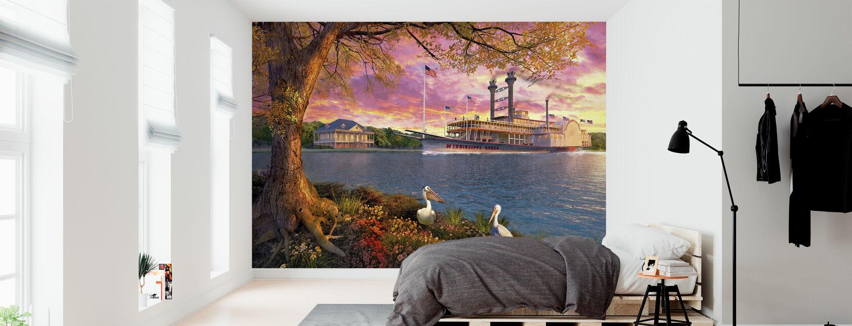 Mississippi Queen - Wallpaper - Bedroom
