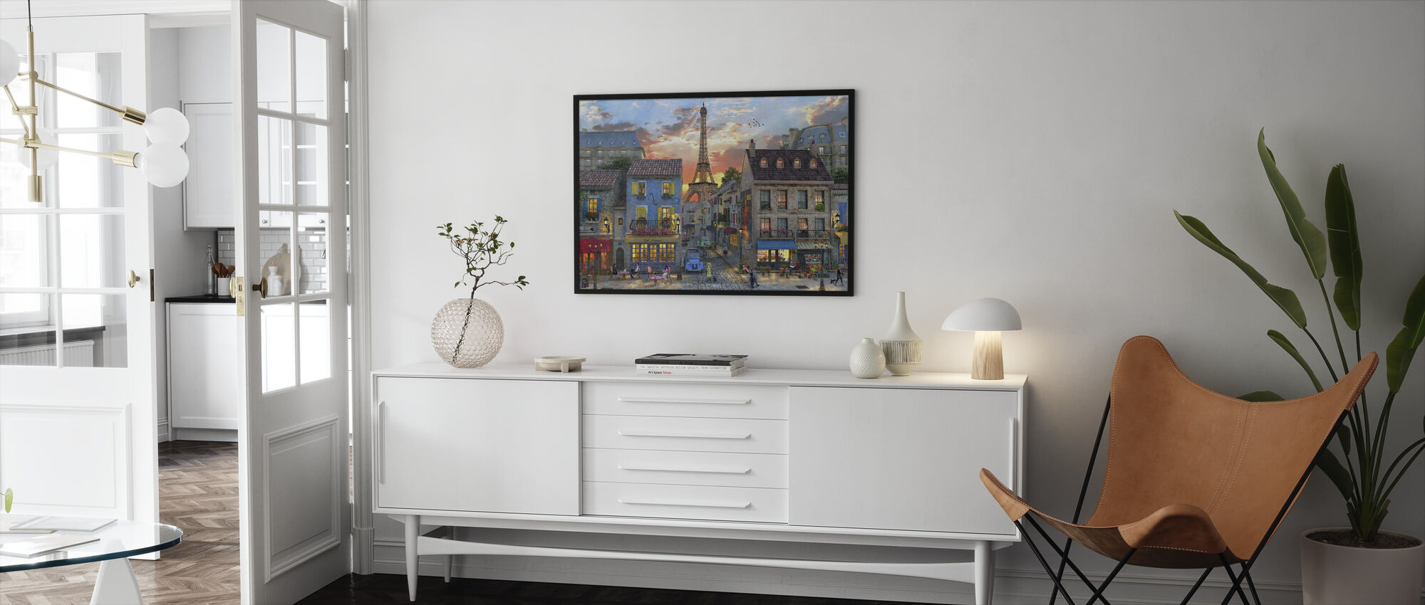 Streets of Paris - Framed print - Living Room