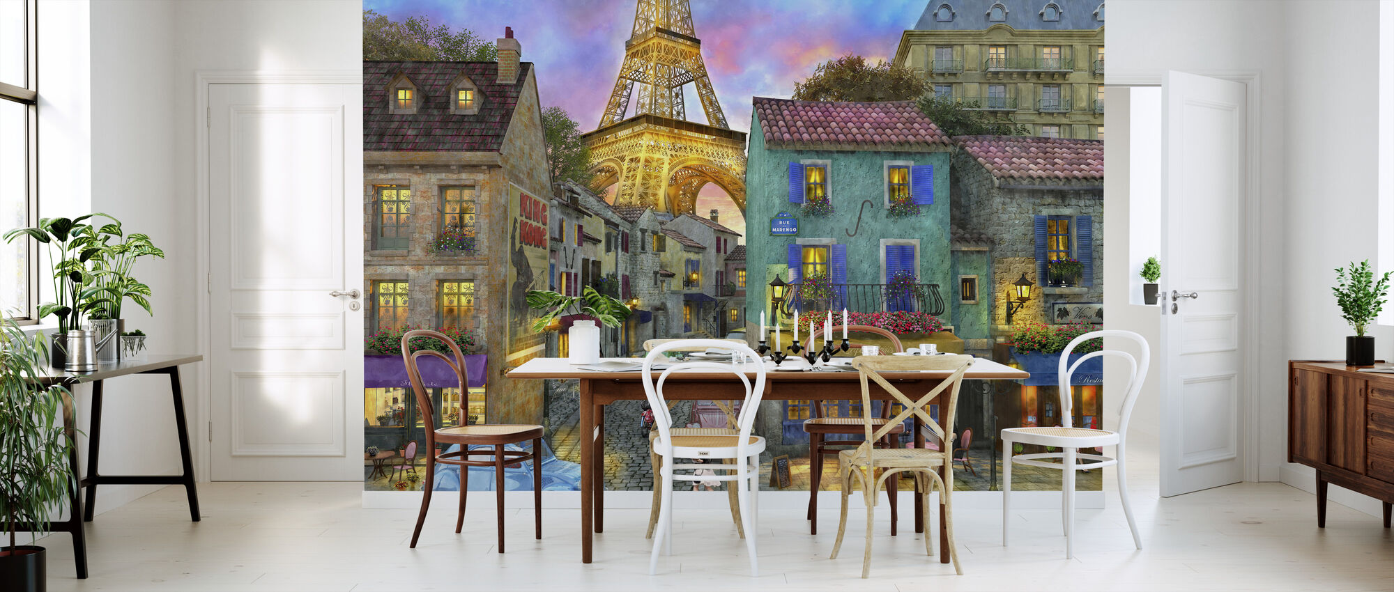 Paris Streets - Wallpaper - Kitchen