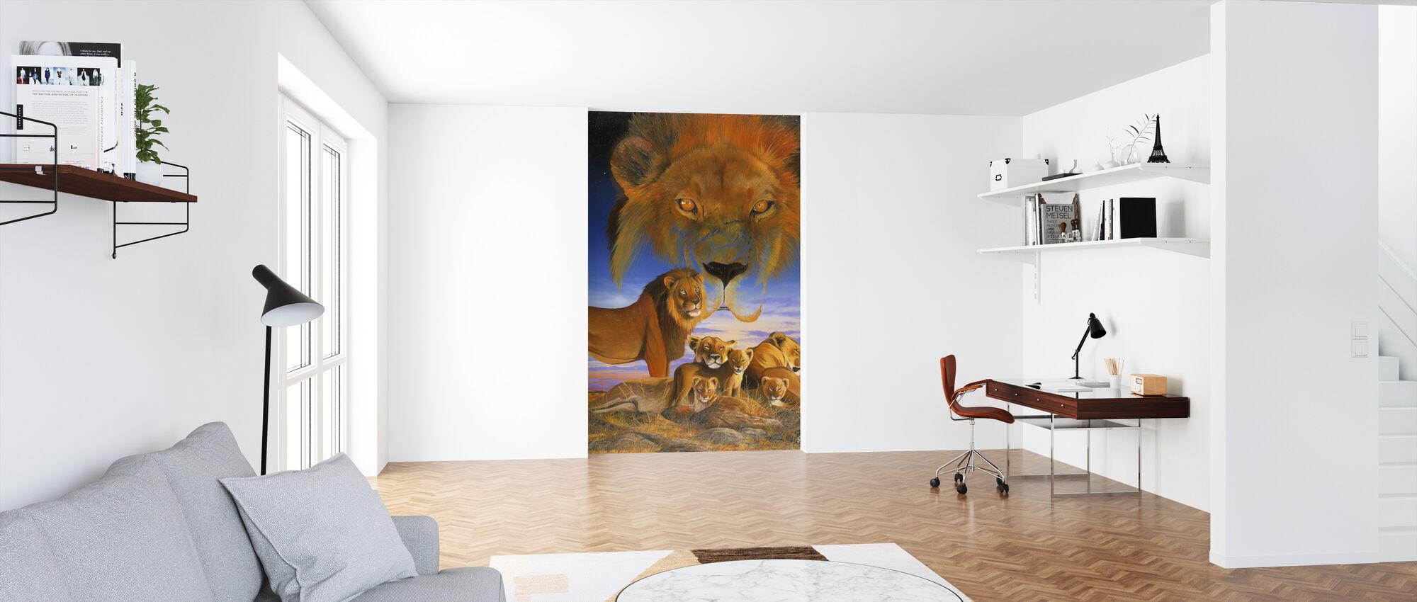 Masai Morning - Wallpaper - Office