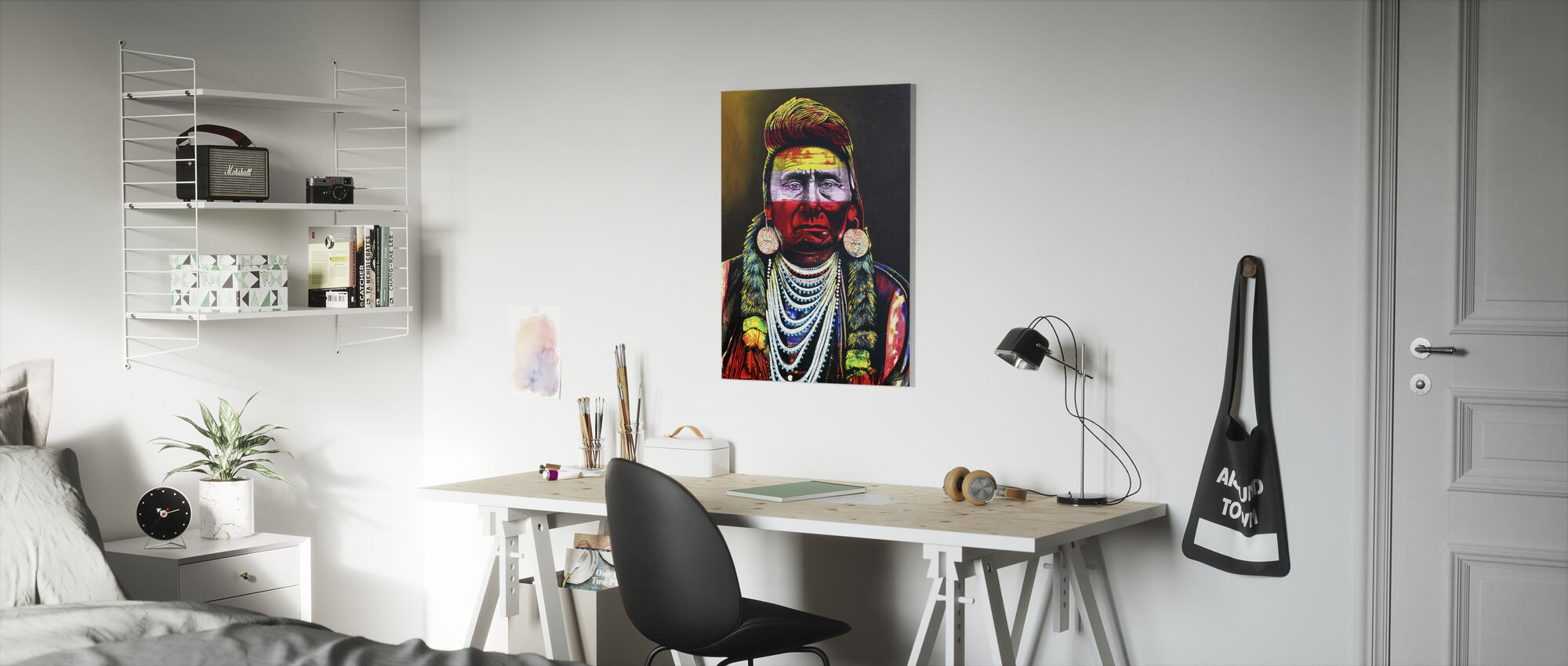 Chief Joseph - Canvas print - Kinderkamer