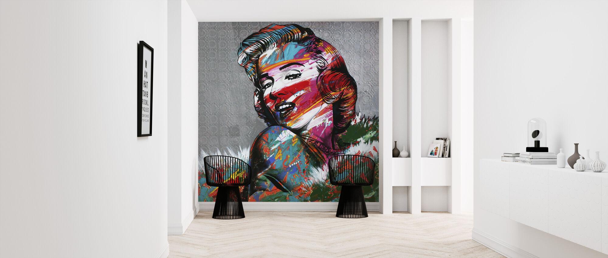 Electric Smile - Wallpaper - Hallway