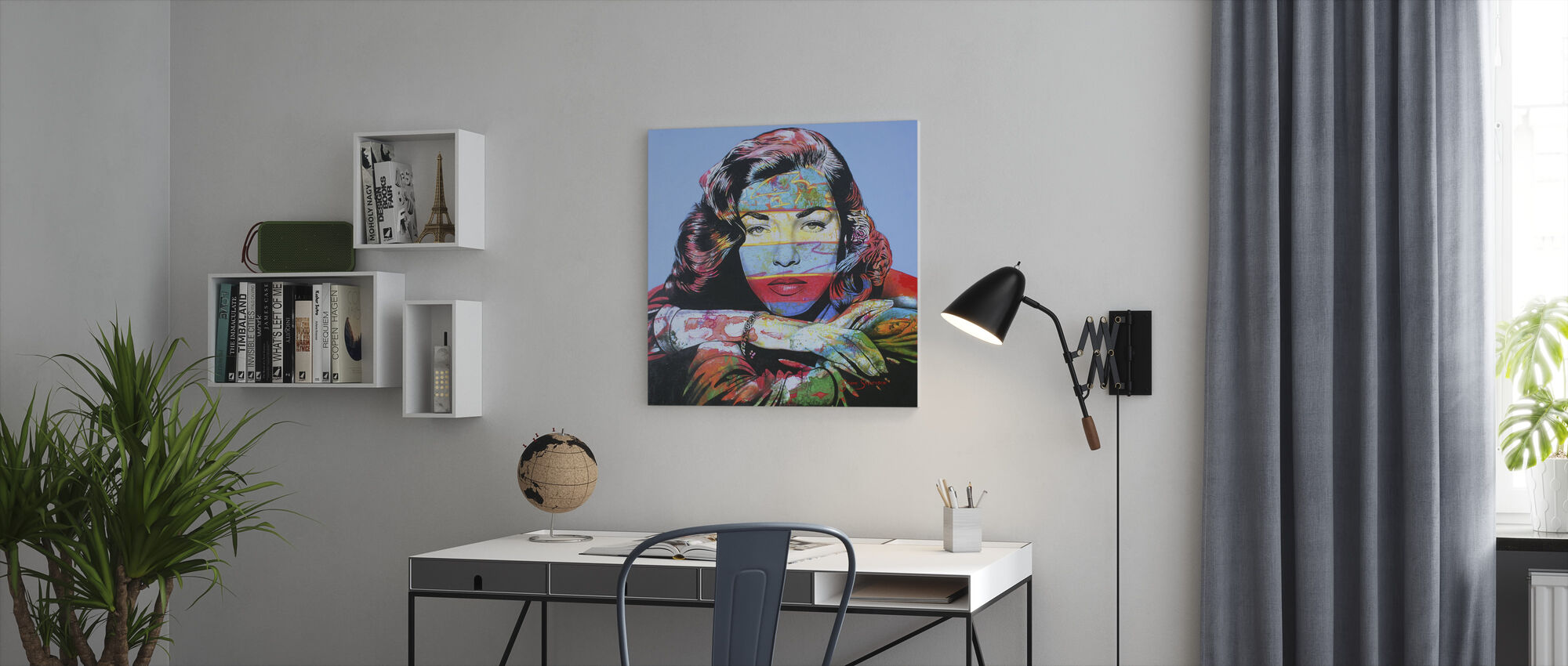 Just Like Bacall - Canvas print - Office