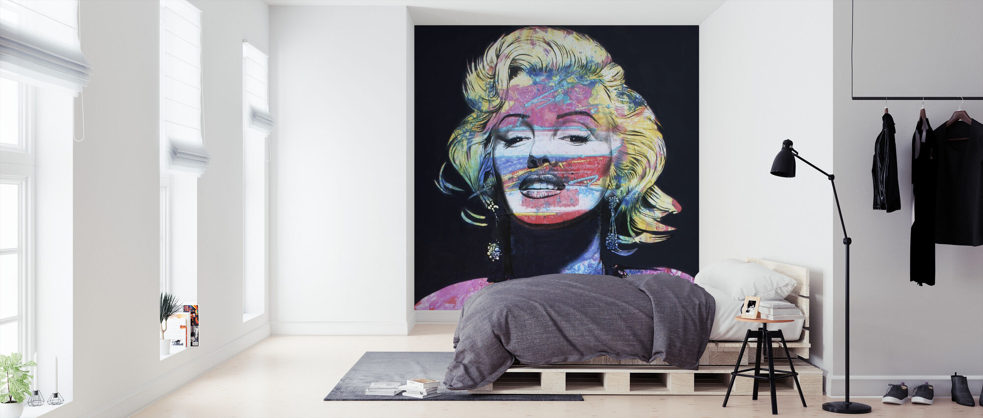 De Look - Behang - Slaapkamer