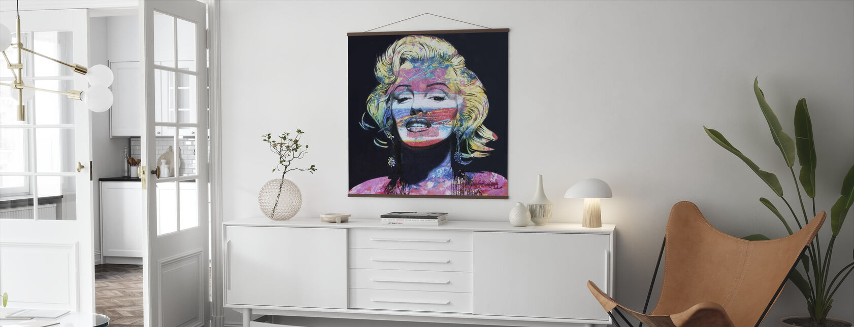 The Look - Poster - Living Room