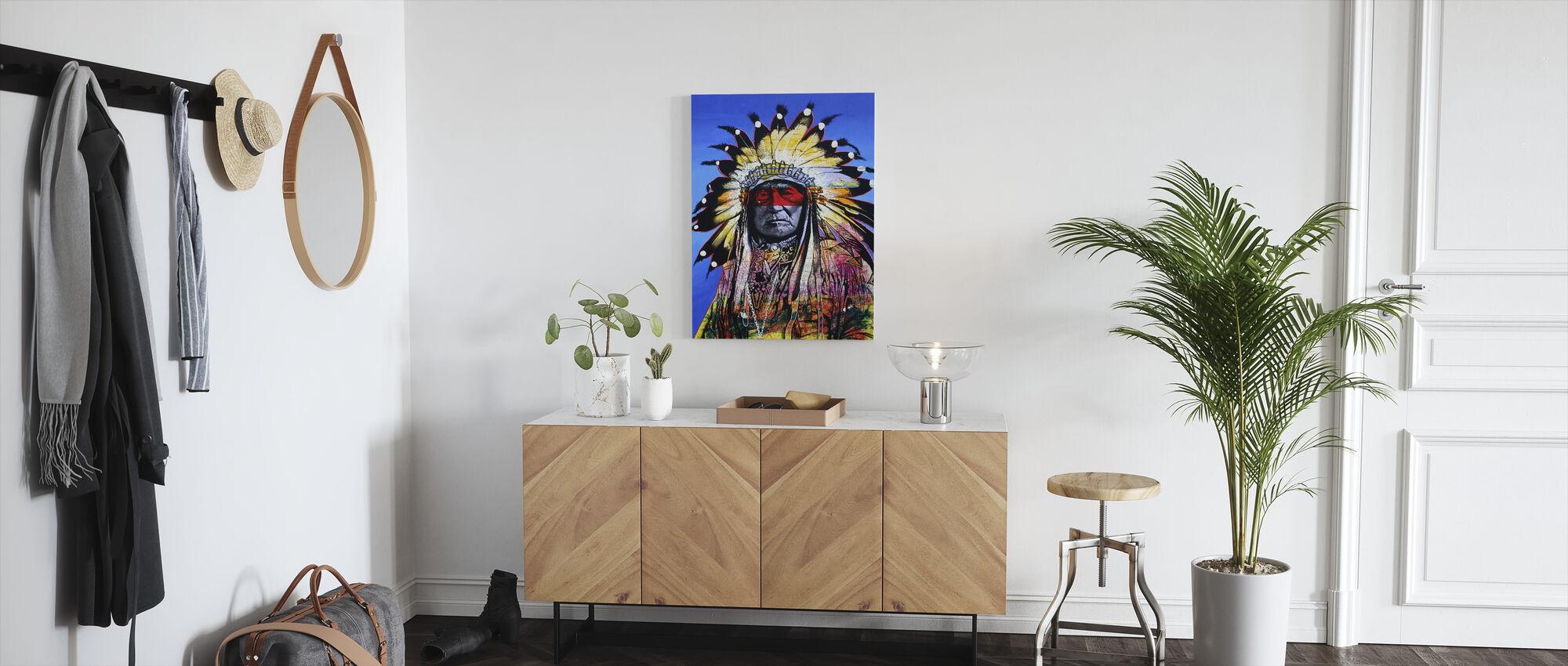 Wisdom of the Warrior - Canvas print - Hallway