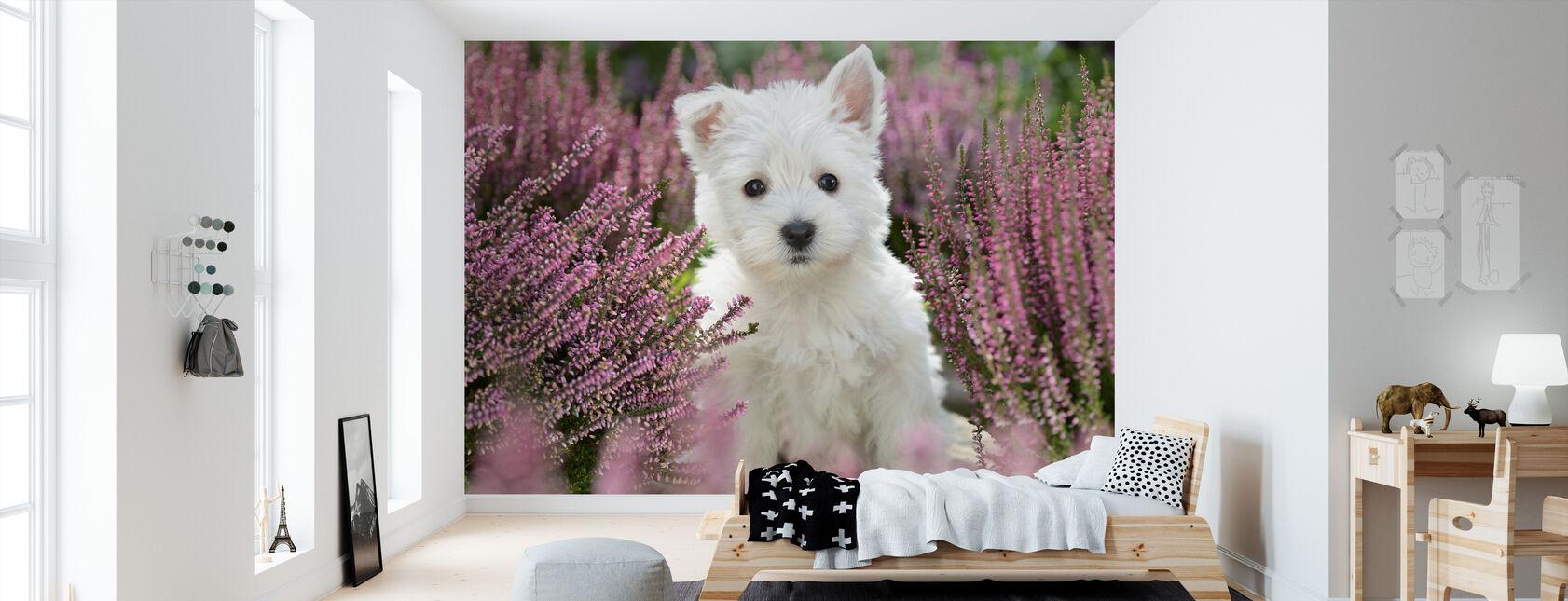 Hund harmoni - Tapet - Børneværelse