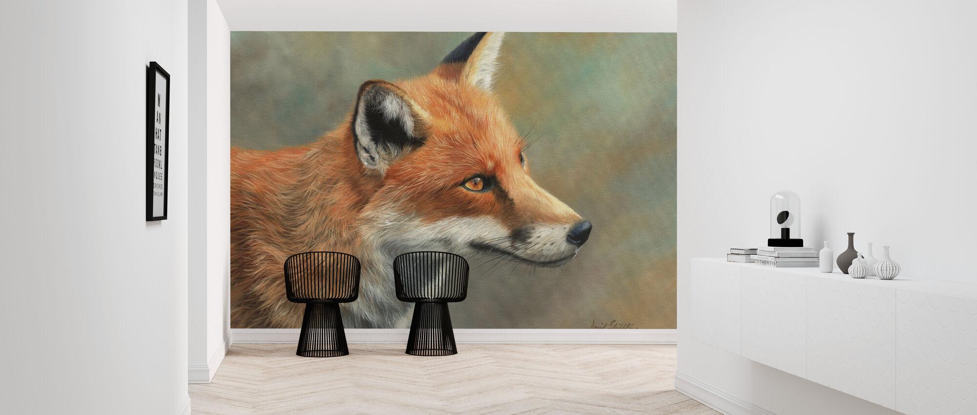 Fox Nærbilde - Tapet - Gang