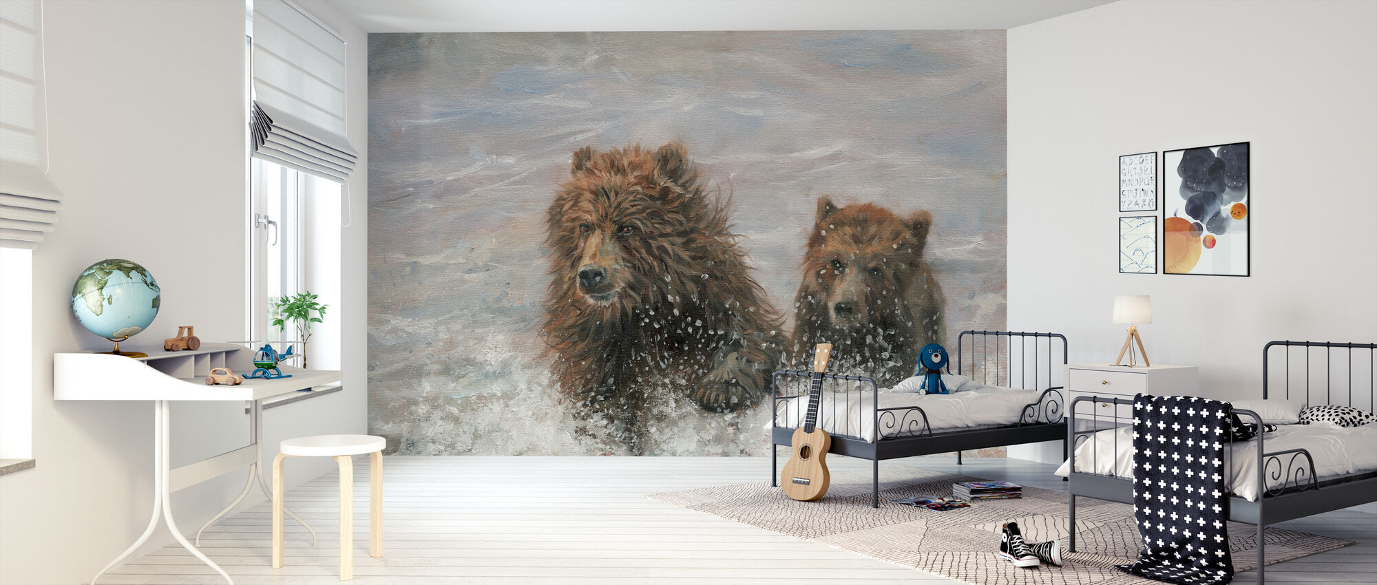 The Bears are Coming - Wallpaper - Kids Room