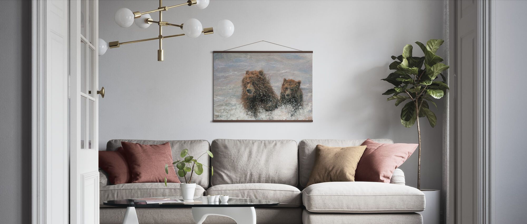 The Bears are Coming - Poster - Living Room