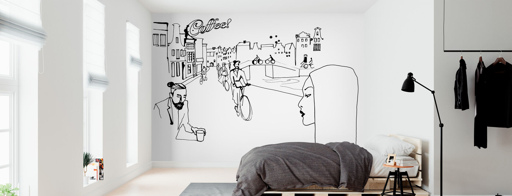 Amsterdam - Wallpaper - Bedroom