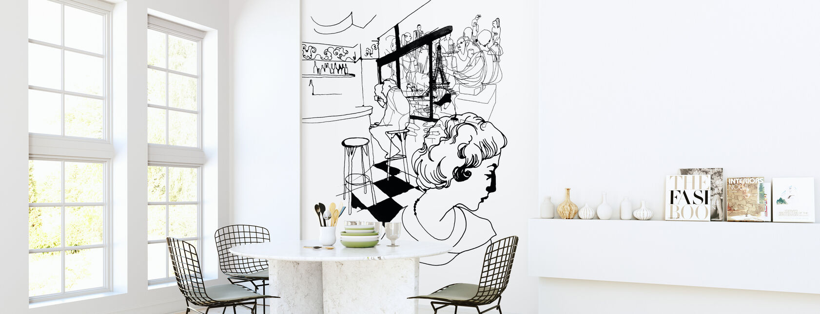 Coffee in Paris - Wallpaper - Kitchen