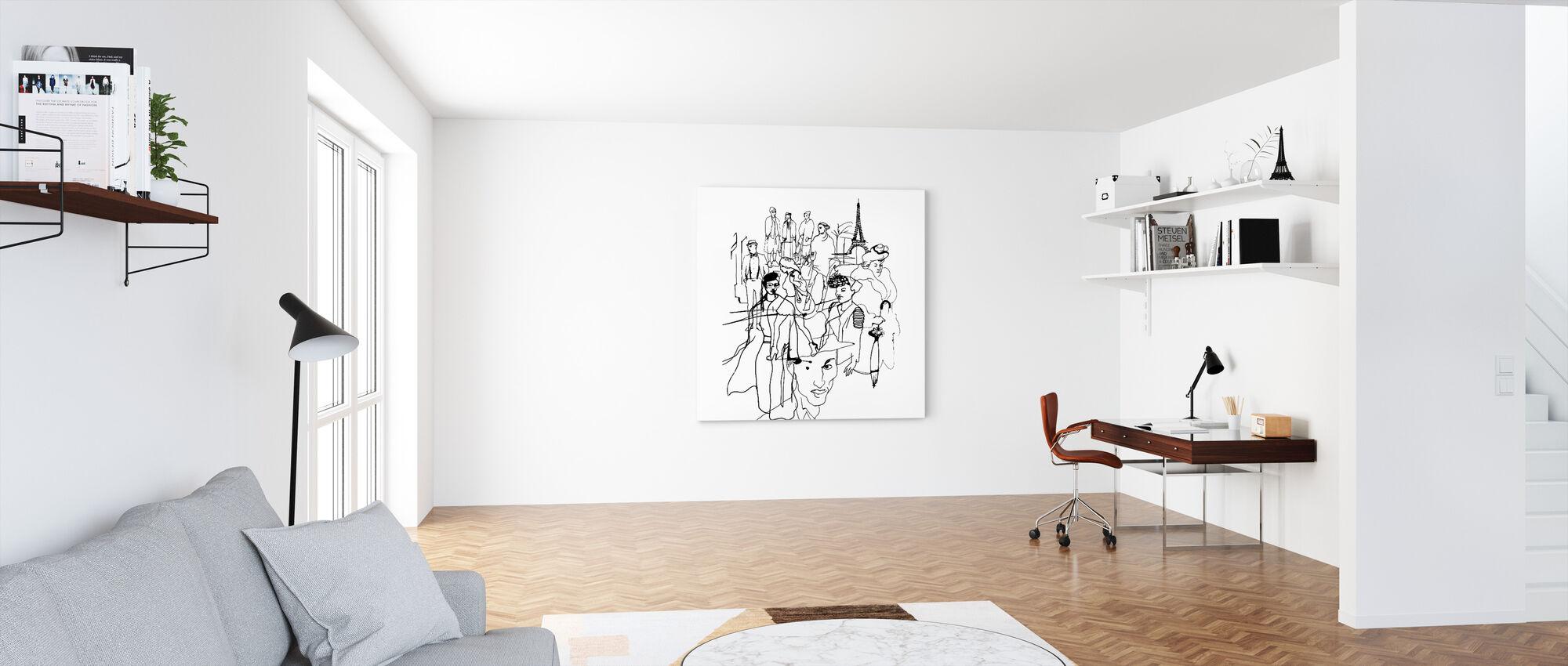 Paris - Canvas print - Office