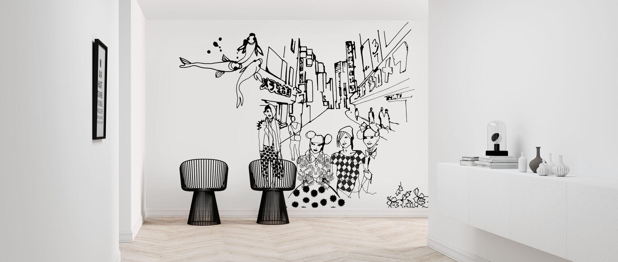 Tokyo - Wallpaper - Hallway