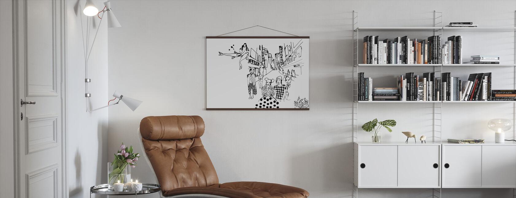 Tokyo - Poster - Living Room
