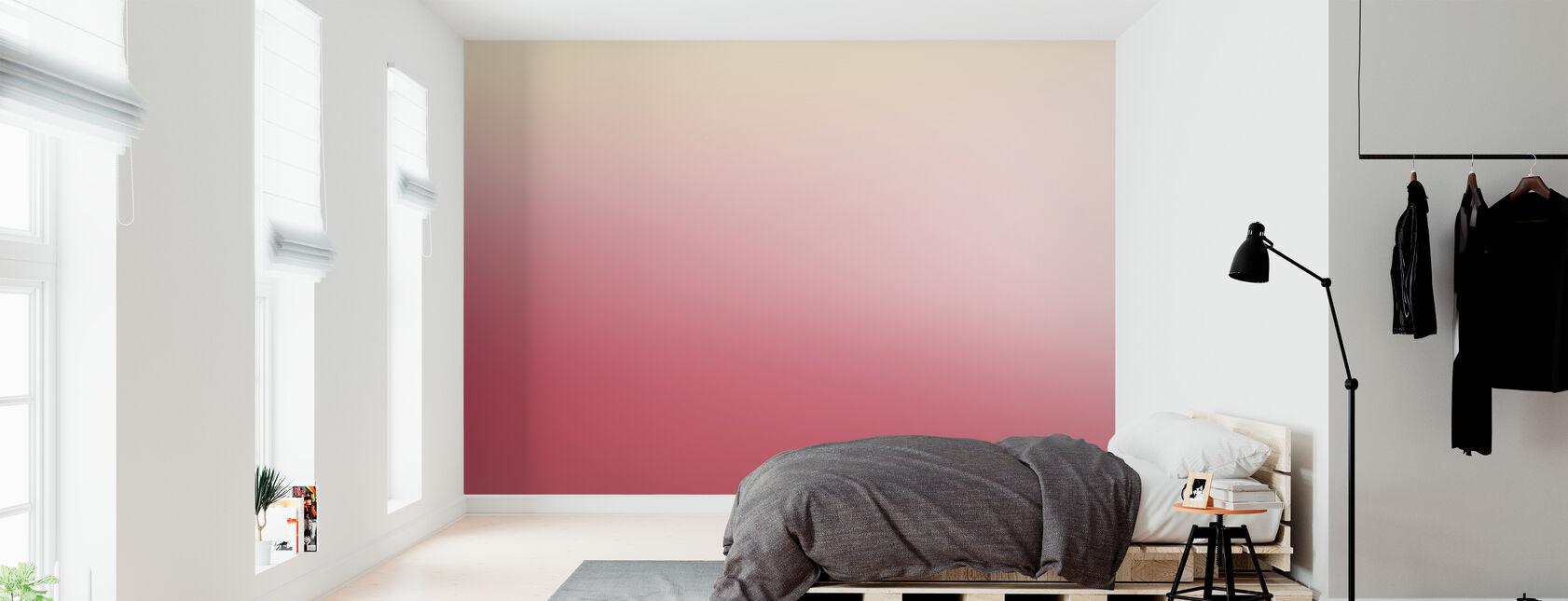 Miami vaaleanpunainen rypäleen - Tapetti - Makuuhuone