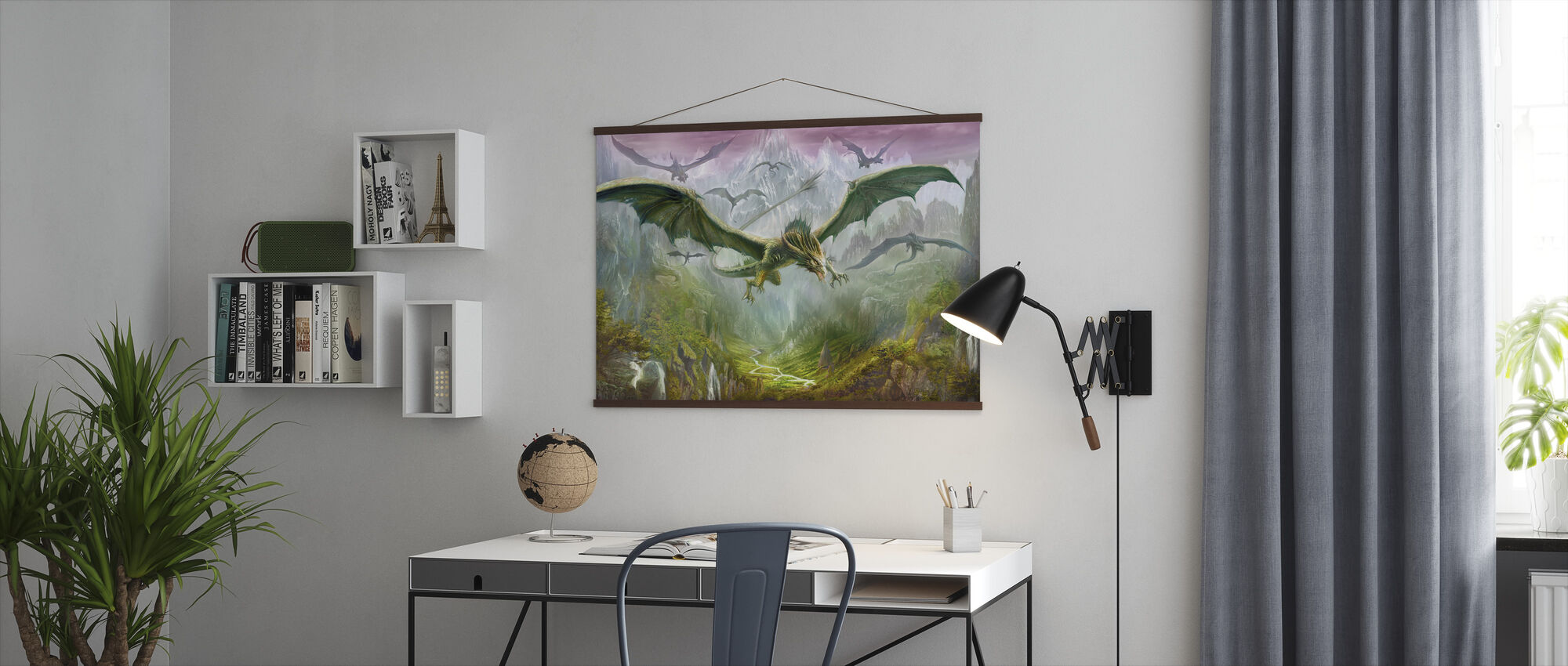 The Valley of Dragons - Poster - Office